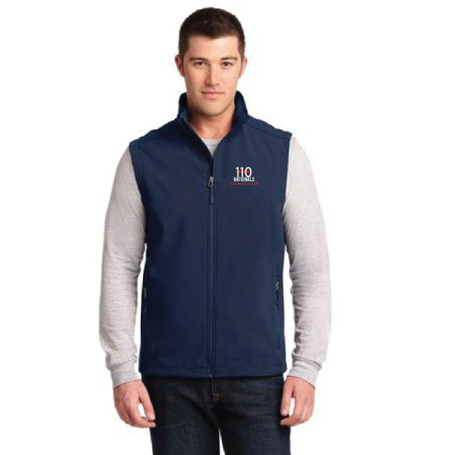 110 National Championship 2016 Men's Softshell Vest
