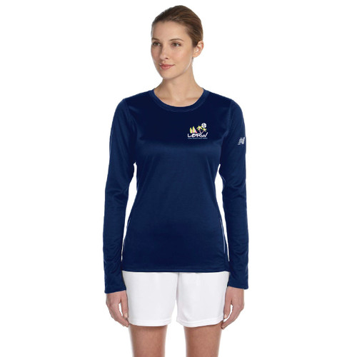 CLOSEOUT! Long Beach Race Week 2015 Women's Wicking Shirt (Navy)