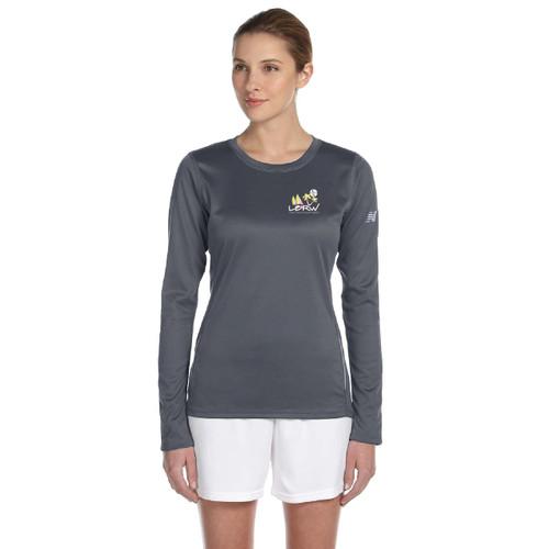 CLOSEOUT! Long Beach Race Week 2015 Women's Wicking Shirt (Silver)