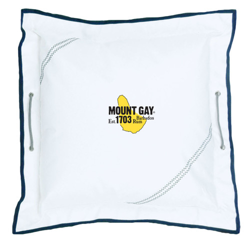 "NEW! Mount Gay® Newport Pillow 21"" by SailorBags®"