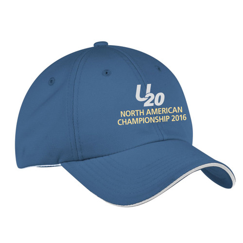 Ultimate 20 North Americans 2016 Wicking Sailing Cap-Blue