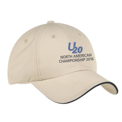Ultimate 20 North Americans 2016 Wicking Sailing Cap-Stone