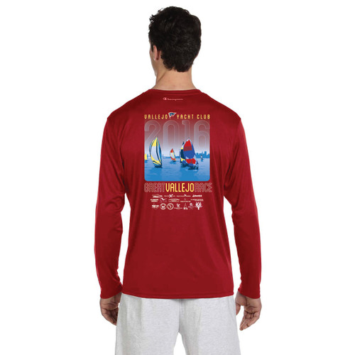 SALE! Great Vallejo Race 2016 Wicking Shirt Red