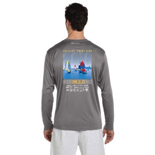 SALE! Great Vallejo Race 2016 Wicking Shirt Gray