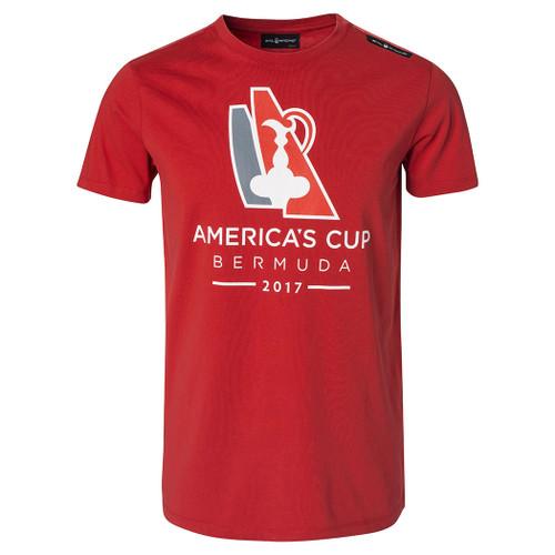 America's Cup 2017 Bermuda Tee (Storm Red)