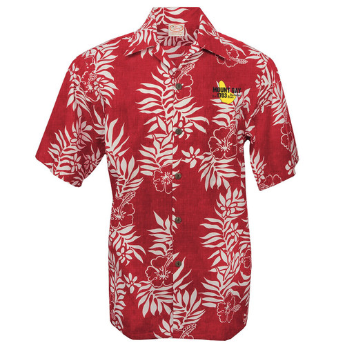Mount Gay® Rum Aloha Shirt Red