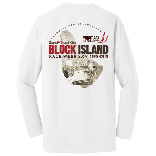 SALE! Mount Gay® Rum Block Island Race Week 2013 Wicking Shirt