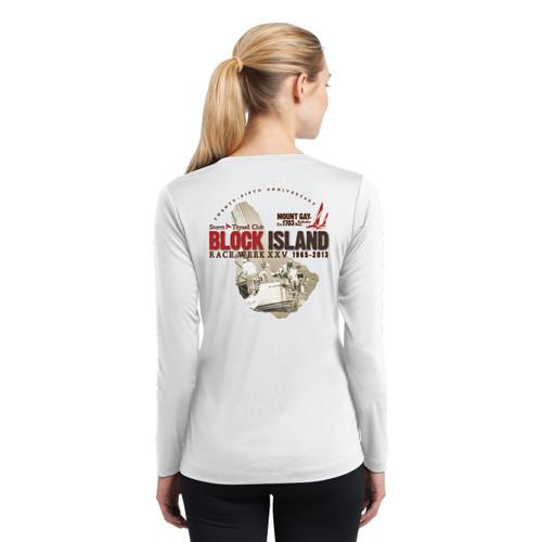 SALE! Women's Mount Gay®Rum Block Island Race Week 2013 Wicking Shirt