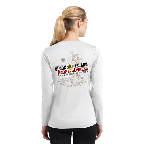 SALE! Women's Mount Gay®Rum Block Island Race Week 2015 Wicking Shirt