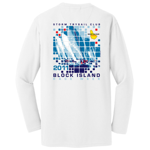 SALE! Mount Gay® Rum Block Island Race Week 2011 Wicking Shirt