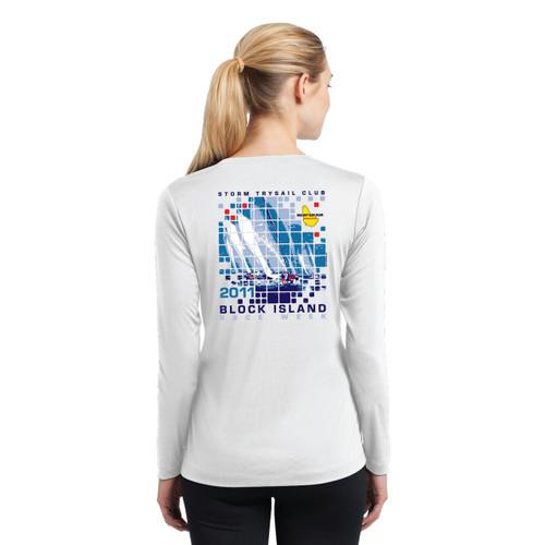 SALE! Women's Mount Gay®Rum Block Island Race Week 2011 Wicking Shirt
