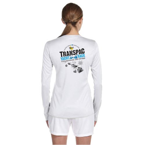 SALE! Mount Gay®Rum TransPac 2015 Women's Wicking Shirt (White)