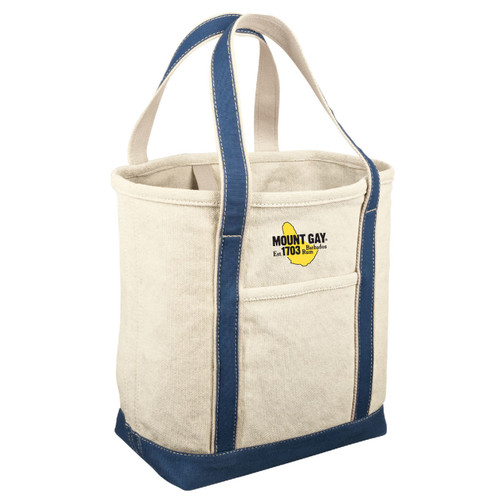 Mount Gay® Rum Medium Canvas Tote by Red House® (Riviera Blue)