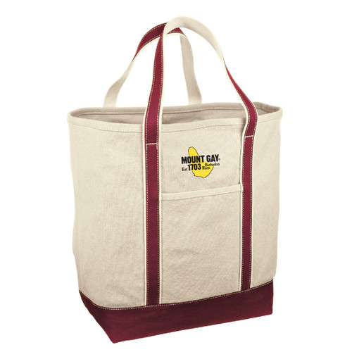 Mount Gay® Rum Medium Canvas Tote by Red House® (Red)