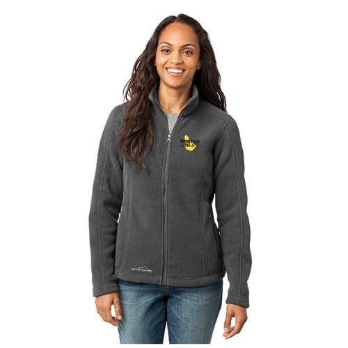 Mount Gay® Rum Women's Full-Zip Fleece Jacket by Eddie Bauer® (Grey)