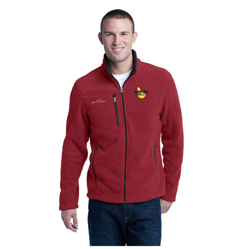 Mount Gay® Rum Full-Zip Fleece Jacket by Eddie Bauer® (Red)