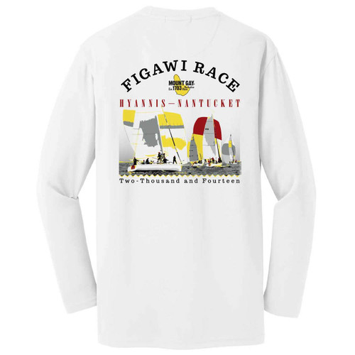 SALE! Mount Gay® Rum Figawi Race 2014 Wicking Shirt