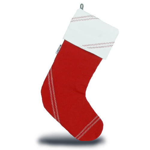 Sailcloth Christmas Stocking by SailorBags®
