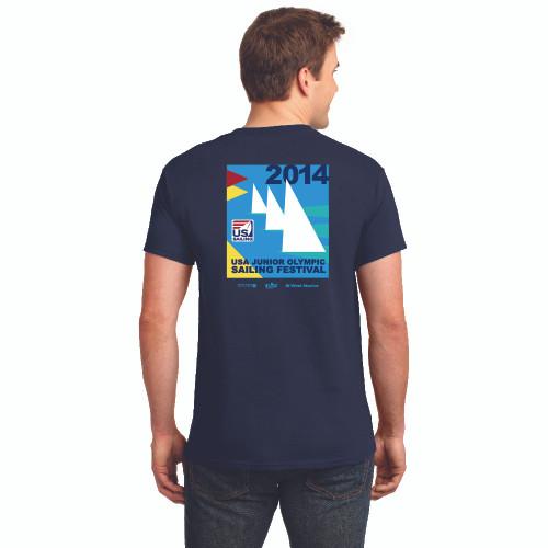 CLOSEOUT! US Junior Olympics 2014 T-Shirt (Navy)
