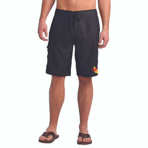 NEW COLOR! Mount Gay® Rum Sailing Board Shorts (Black)