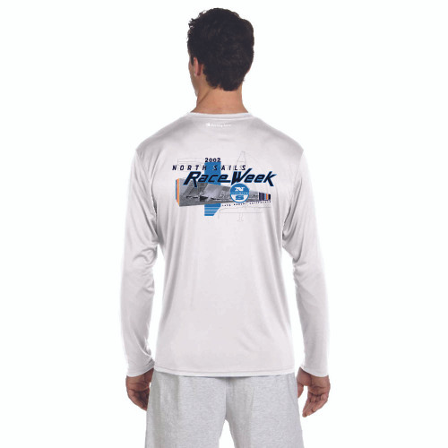 CLOSEOUT! North Sails Race Week 2002 Men's Wicking Shirt