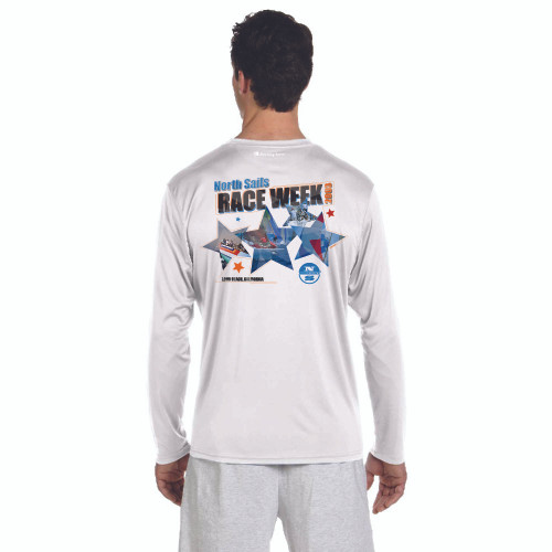 CLOSEOUT! North Sails Race Week 2003 Men's Wicking Shirt