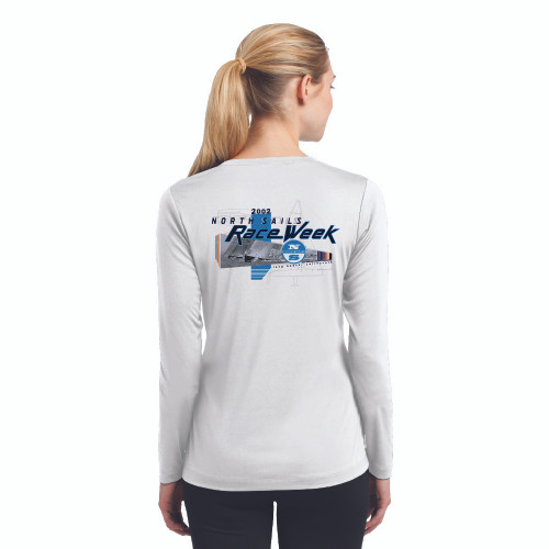 CLOSEOUT! North Sails Race Week 2002 Women's Wicking Shirt