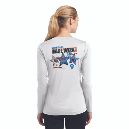 CLOSEOUT! North Sails Race Week 2003 Women's Wicking Shirt