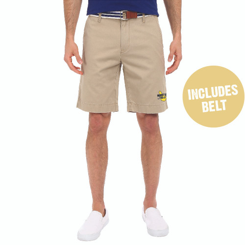 Mount Gay® Rum Flat Front Shorts by U.S. Polo Association