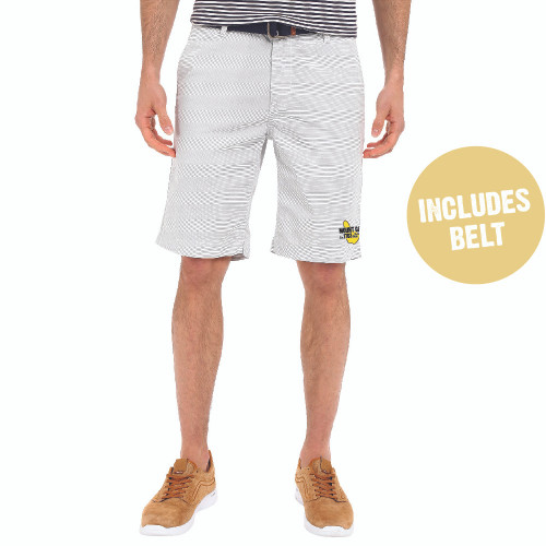 Mount Gay® Rum Horizontal Stripe Shorts by U.S. Polo Association