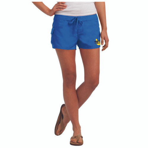 NEW COLOR! Mount Gay® Rum Girl's Board Shorts (Royal)
