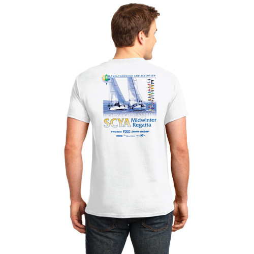 SCYA Midwinter Regatta 2017 Cotton T-Shirt