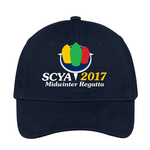 SCYA Midwinter Regatta 2017 Cotton Sailing Cap