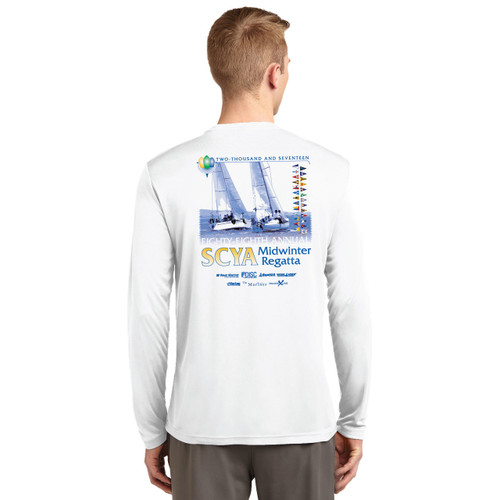 SCYA Midwinter Regatta 2017 Wicking Shirt