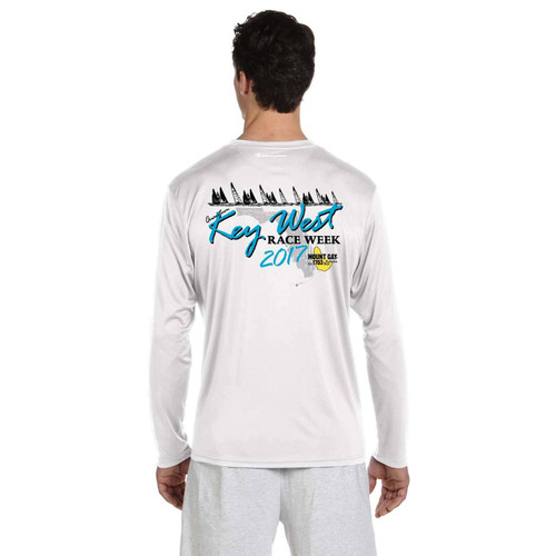 SALE! Mount Gay Rum Quantum Key West Race Week 2017 Men's Wicking Shirt