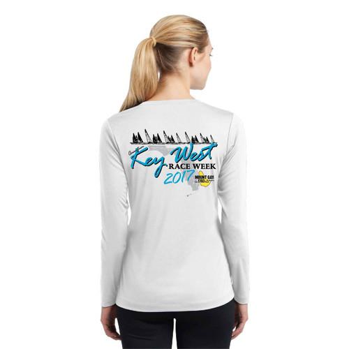 SALE! Mount Gay Rum Quantum Key West Race Week 2017 Women's Wicking Shirt