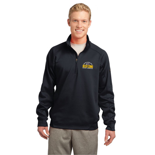 CRA Beer Cans San Diego Men's Wicking Fleece Pullover (CUSTOMIZABLE)