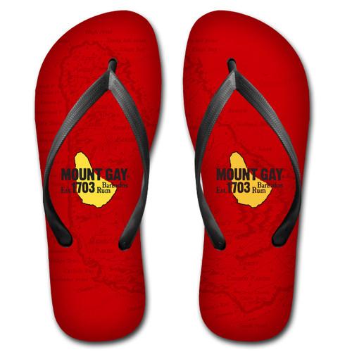 SALE! Mount Gay® Rum Beach Flip Flops