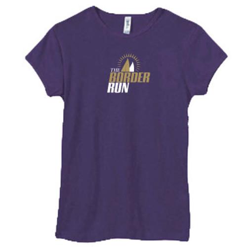 CLOSEOUT! Border Run Women's 2x1 Rib T-Shirt