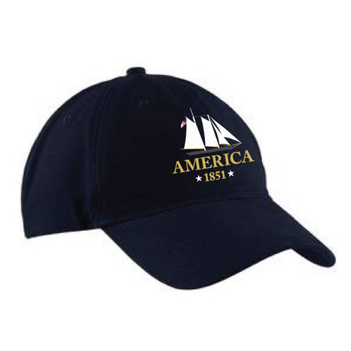 Yacht America USA-1 Brushed Twill Low Profile Cap