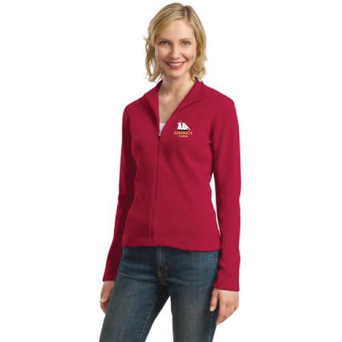 Yacht America USA-1 Women's Full-Zip Sweater