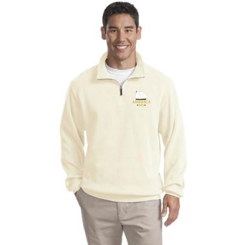 Yacht America USA-1 Men's 1/4-Zip Sweater