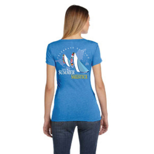 SALE! 2014 Summer Sailstice Women's Scoop T-Shirt