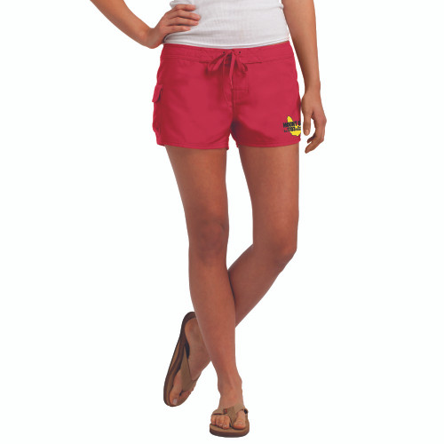 SALE! Mount Gay® Rum Girl's Board Shorts (Red)