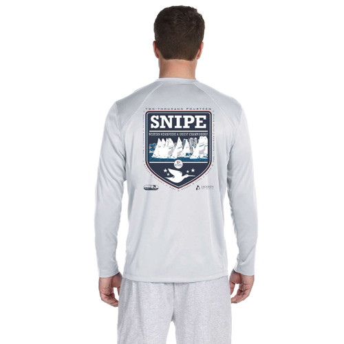 CLOSEOUT! SDYC Snipe Western Hemisphere and Orient Championship 2014 Men's Wicking Shirt