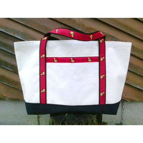NEW! Mount Gay® Rum Premium Canvas Tote by YRI