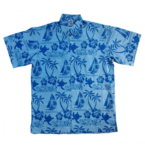 SALE! Summer Sailstice Aloha Shirt by Rum Reggae