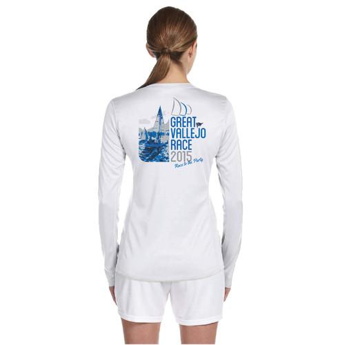 Great Vallejo Race 2015 Women's Wicking Shirt