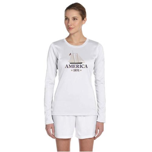 Yacht America USA-1 Women's Wicking Shirt