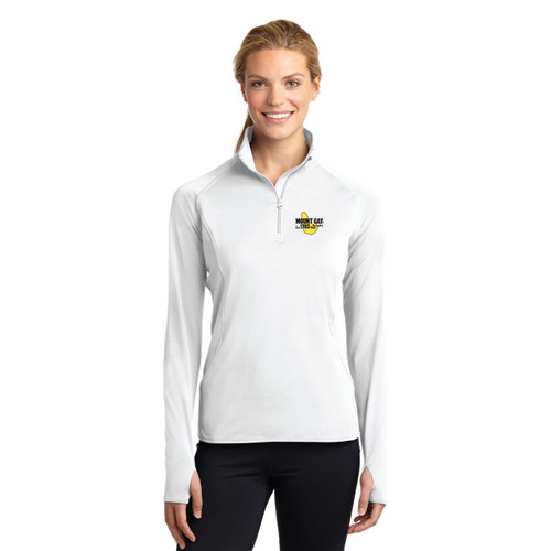 SALE! Mount Gay® Rum Women's Sport-Wick® Stretch 1/2-Zip Pullover